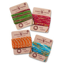 Set of 4 Recycled Saree Twine (5M)