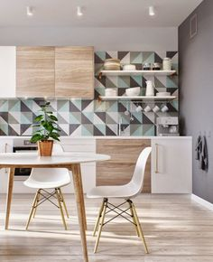 5 Creative and Modern Tricks Can Change Your Life: Small White Kitchen Remodel kitchen remodel bedrooms.Kitchen Remodel On A Budget Grey kitchen remodel bedrooms.Kitchen Remodel Must Haves Walk In. Scandinavian Interior Design, Interior Modern, Home Interior, Interior Design Kitchen, Scandinavian Style, Scandinavian Shelves, Nordic Design, Nordic Style, Apartment Interior