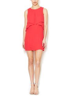 Amelie Keyhole Flutter Dress from Spring Essentials: Shift Dress on Gilt