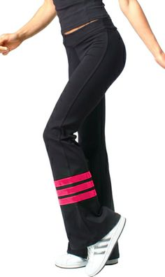 Margarita Activewear Workout Pants. Great For Fitness Dance Classes.