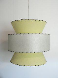 Retro Mid Century Atomic Style Hanging Swag Lamp SALE. $135.00, via Etsy.
