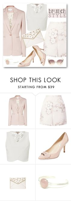 """""""Brunch With Friends"""" by brendariley-1 ❤ liked on Polyvore featuring Reiss, Honor, Lipsy, L.K.Bennett, Rebecca Minkoff, Linda Farrow and brunch"""