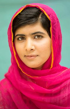 Malala Yousafzai. Her book I am Malala is so inspiring. What a brave and strong woman!