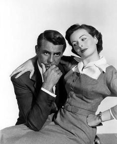 Cary Grant and Jeanne Crain for ''People Will Talk'' (1951).