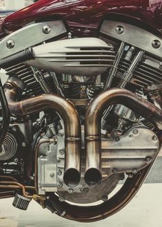 V-Twin Motorcycle Exhibition in London Celebrates the Underground Custom Scene - Photography by Laurent Nivalle