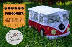 SORTEO furgoneta amigurumi en Noagurumis. ¡¡Participa!!