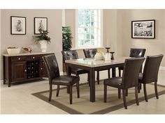 Shop for Coaster Dining Table, 103771, and other Dining Room Dining Tables at Patrick Furniture in Cape Girardeau, MO 63701.