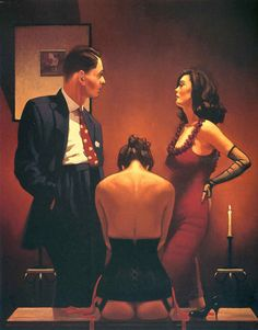 A special collection of Jack Vettriano's more erotic works, published for the first time as signed, limited edition prints. Jack Vettriano, The Singing Butler, Bon Film, Great Paintings, Original Paintings, Pulp Art, Pulp Fiction, Limited Edition Prints, Erotic Art