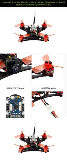 KING KONG 90GT PNP Brushless FPV RC Racing Drone Mini Four-alxe Brushless Quadcopter (No Receiver) #shopping #kingkong #kit #plans #tech #camera #fpv #technology #products #parts #drone #racing #gadgets