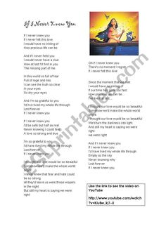 Disney Song - ESL worksheet by BlueFlower Hollywood Trailer, Latest Hollywood Movies, Latest Movies, English Games, English Activities, English News, Teaching English, Learn English, Life Trailer