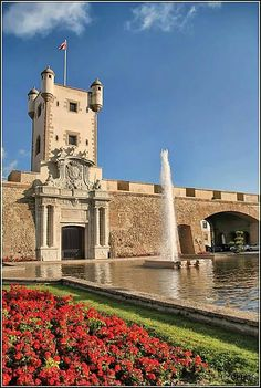 Puerta Tierra, Cadiz, Spain