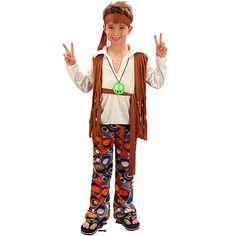 Disfraz de Hippie Pacifista #disfraces #infantil