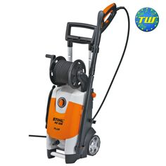 Stihl RE128PLUS Compact Cold Water High Pressure Washer 47670124524 is a compact high pressure cleaner with 135 bar operating pressure. Fitted with trolley and telescopic handle for easy transport and storage. http://www.twwholesale.co.uk/product.php/section/6177/sn/Stihl-RE128PLUS