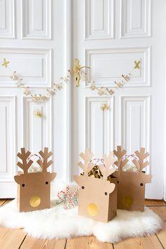 DIY: paper xmas gift bags