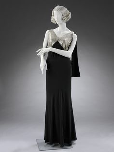Dress, Jeanne Lanvin, 1933, V & A Museum