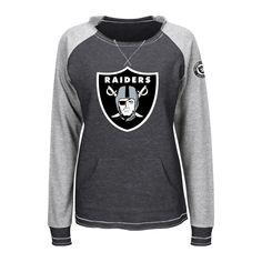 Oakland Raiders Women's Activewear Sweatshirt Xxl, Multicolored
