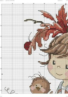 Cross Stitch Angels, Cross Stitch For Kids, Cute Cross Stitch, Cross Stitch Bird, Cross Stitch Charts, Cross Stitch Designs, Cross Stitching, Cross Stitch Embroidery, Hand Embroidery