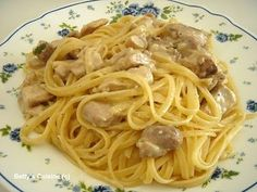 Spaghetti, Yummy Food, Pasta, Snacks, Food And Drink, Cooking, Breakfast, Ethnic Recipes, Greek