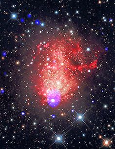 Starburst Galaxy IC 10... More than a hundred years after Swift's discovery,astronomers are studying IC 10 with the most powerful telescopes of the 21s... - alaink - Google+