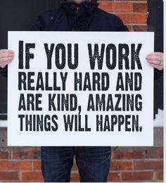 Trabajando duro para lograr metas trazadas.