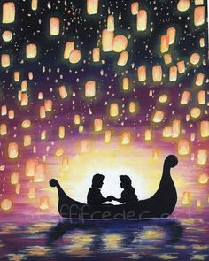 I See The Light by SteffiFrederArt on Etsy