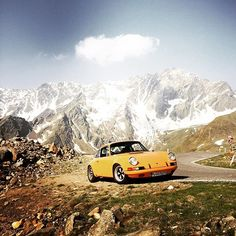 Porsche ST at the Gaviapass ... see you next year