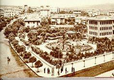 Kızılay binası ve Parkı Ankara - Eski Fotoğraflar