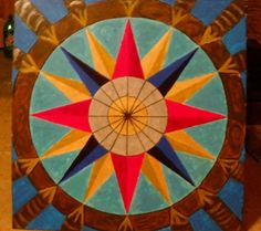 2' x 2 ' hand painted barn quilt by deb from barnquiltsbydeborah.com