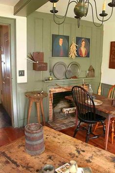 Collections primitive bedroom primitive kitchen primitive decorating primitive display primitive home Primitive Fireplace, Primitive Homes, Primitive Kitchen, Primitive Country, Primitive Quilts, Fireplace Wall, Fireplace Ideas, Primitive Furniture, Country Furniture