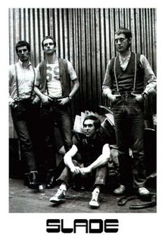 An archive of information, from 1960 to the present day, regarding the authentic history of the rock group Slade. Skinhead Haircut, Skinhead Men, Skinhead Fashion, Slade Band, Noddy Holder, Latest Discoveries, Star Wars, British Rock, Rock Groups