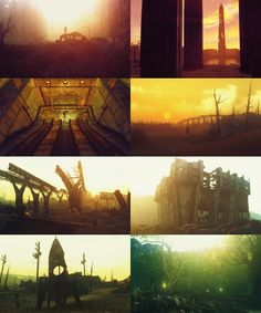 Fallout 3 screenshots.  This game is art.