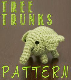 Aww! Tiny Tree Trunks from adventure time. how adorable! #crochet #amigurumi