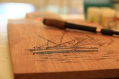 Learning the art of Pyrography with Achchu