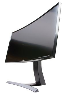 Samsung S34E790C Curved Monitor Built and Design
