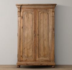 Mason Media Armoire   Wax Pine Finish #potterybarn 2 Of These   One As An  Entertainment Center And The Other As An Armoire. | My Dream Home |  Pinterest ...