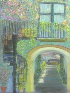 Pastel original de artista GRAHAM. La magia de RUDI: Pintores y Artistas.    Enhorabuena por pintar así. Rudi