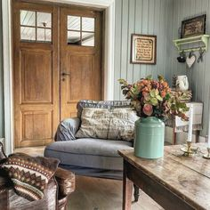 Dere, Shabby Vintage, Cottage Style, Kos, Entryway Bench, French Country, Sweet Home, Couch, Furniture