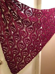 Crochet Shawl I'm making this right now! Ravelry: craftwich's All Souls Shawl - Crochet Shawls And Wraps, Crochet Scarves, Crochet Clothes, Crochet Skull Patterns, Knitting Patterns, Crochet Crafts, Free Crochet, Ravelry Crochet, Easy Crochet