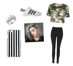 """""""Untitled #190"""" by dance-972 on Polyvore featuring Topshop, adidas and MICHAEL Michael Kors"""