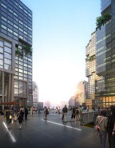 shi ba ti by liu xiang design wins chongqing city urban design competition