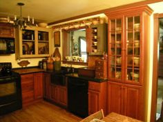 A Primitive Place ~ Primitive & Colonial Inspired Kitchens