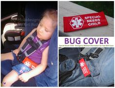 Emergency Medical Information Cover  - Special Needs Child. $20.00, via Etsy.