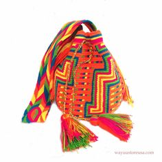Wayuu Bags are 2014 Hot Trend in Europe and by loveandlucky, $105.00