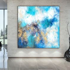 Original Abstract Painting Modern Decor Extra Large Art image 1 Large Canvas Wall Art, Acrylic Wall Art, Extra Large Wall Art, Large Art, Canvas Art, Large Painting, Oil Painting On Canvas, Oversized Wall Art, Colorful Artwork