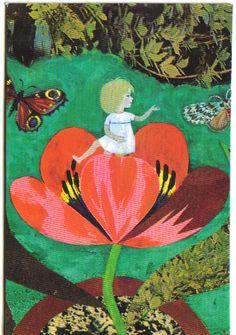 Kaj Beckman (1913-2002) - llustrations from H.C. Andersen's 'Thumbelina', 1967