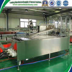 fully automatic aerosol filling machine     More: https://www.aerosolmachinery.com/sale/fully-automatic-aerosol-filling-machine-2.html