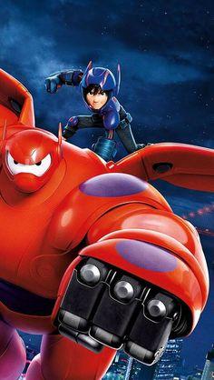 Super Hiro Hamada and Baymax, Big Hero 6 Hiro Big Hero 6, The Big Hero, Big Hero 6 Baymax, Wallpaper Animes, Hero Wallpaper, Cartoon Wallpaper, Pixar, Disney Art, Disney Movies