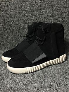 d4d5d973429 Duty-Free Kanye West X Yeezy 750 Adidas Originals Boost Core Black White  Shoe