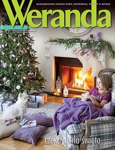 Okładka magazynu Weranda 12/2012 www.weranda.pl