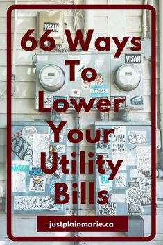 We moved into a drafty old home and SLASHED the heat and power bills. Do you do need lower utility bills, too? #saving #money #utilities